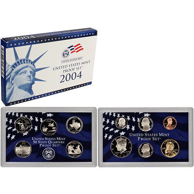 2004 S US Mint Proof Set Original Government Packaging