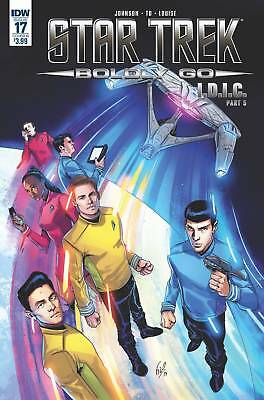 Star Trek Boldly Go #17 Cover B Ossio Idw Nm