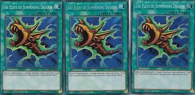 Yugioh 3 X The Flute Of The Summoning Dragon  Lckc-En027 Legendary Collection