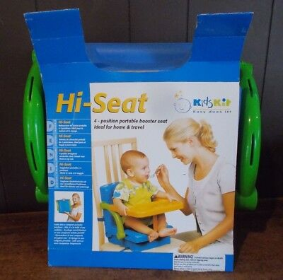 Kidskit Hi-Seat Portable High Chair w/ Tray