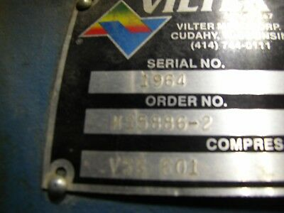 Vilter VSS 601 Refrigeration Screw Compressor
