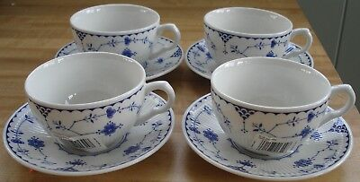 JOHNSON BROTHERS DENMARK-BLUE Cup & Saucer (Imperfect) 7660047 ...