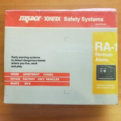 Fireboy / Xintex Safety Systems RA-1 Remote Alarm - NEW OLD STOCK