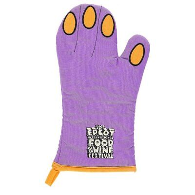 Disney Parks Exclusive Oven Mitt - 2017 Epcot Food and Wine Festival - Figment