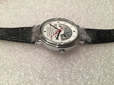 vintage felix the cat watch with rotating background vega 1985