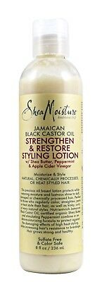 SHEA MOISTURE JAMAICAN BLACK CASTOR OIL Strenghten & restore Styling Lotion236ml