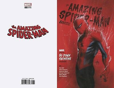 Amazing Spiderman 800 Gabrielle Dell Otto 1:25 Incentive Variant Pre-Sale 5/30