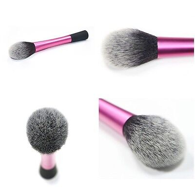 Pro Soft Kabuki Contour Face Powder Foundation Blush Brush  Makeup Cosmetic EH