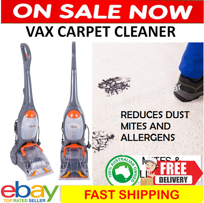 Vax Rapide Carpet Cleaner Washer Wet Carpet Cleaning Machine Vacuum Hoover New