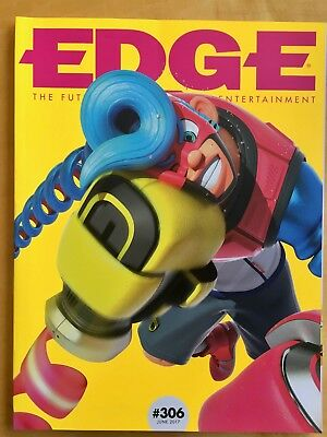 Edge Magazine 306 June 2017 with exclusive subscriber cover. Arms