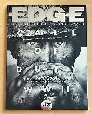 Edge Magazine 307 July 2017. Call Of Duty: WWII, What Remains of Edith Finch