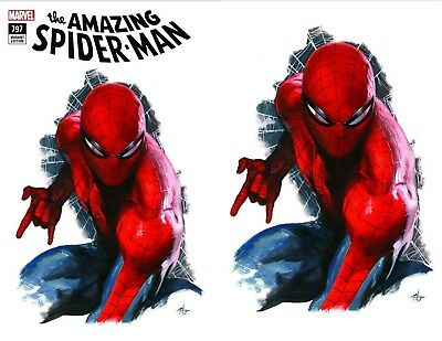 Amazing Spiderman 797 Gabrielle Dell Otto Fan Expo Virgin Variant Set Nm