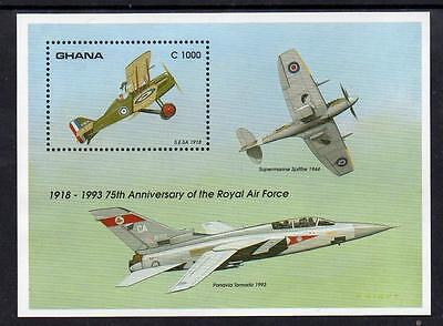 Ghana MNH 1993 Aviation Anniversaries M/S