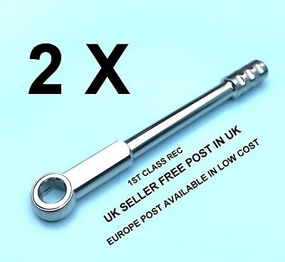 2 x Dental Implant Wrench Ratchet Universal 6.35mm Dentist Surgical Tool New