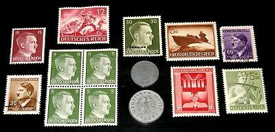 GERMANY COINS! GERMAN REICH POSTAGE STAMPS! (99a)