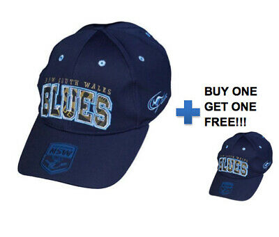 NSW Blues 2017 State of Origin Supporter Cap BNWT - One Size Fits Most