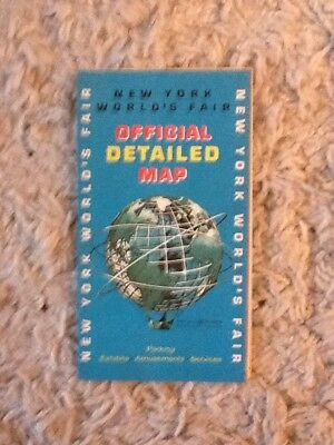 OFFICIAL Detailed Esso Map & Official Guide 1964/1965 NEW YORK ...