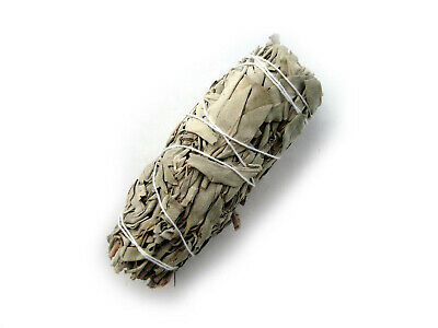 "California WHITE SAGE Smudge Stick - Medium 5"" (12cm)"