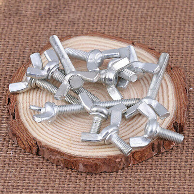 M4 M5 M6 M8 M10 Zinc Plated Carbon Steel Wing Bolt /Butterfly Wing Screw