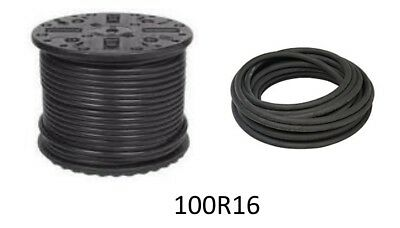 "100R16-04  1/4"" x 25 Ft.  2-Wire Hydraulic Hose 6000 PSI"
