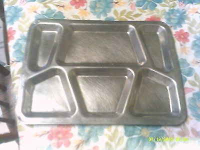 World War 2 Mess Hall Trays Stainless Steel