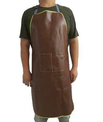 Top Leather Welding Apron Welders Soldering Blacksmith Protective Cover Tool