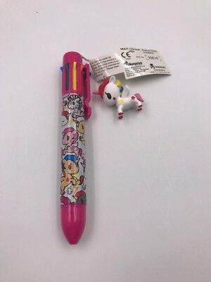 Tokidoki Multi-Color Pen With Stellina Charm (RF)