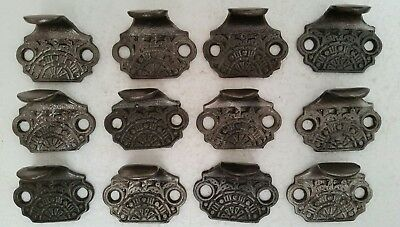 12 Fancy Victorian Style  Cast Iron Sash Lifts Window Lifts Cleaned (133Hc)