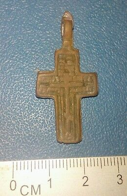 Old bronze cross Russia 18-19th century