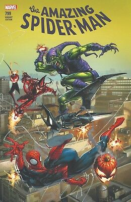 Amazing Spiderman 799 Clayton Crain Comicxposure Variant Goblin Pre-Sale 4/18