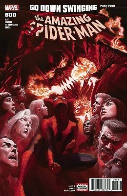 AMAZING SPIDERMAN 800 ALEX ROSS 1st PRINT NM RED GOBLIN CONTINUES PRE-SALE 5/30