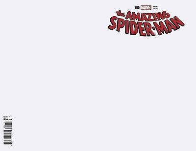 Amazing Spiderman 800 Blank For Sketch Variant Nm Red Goblin