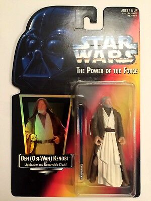 Star Wars FigurBen (Obi-Wan) Kenobi Of The Force POTF2 MOC neu OVP