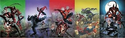 Amazing Spiderman 796 797 798 799 800 Crain Virgin Variant 5 Pack Set Pre-Sale
