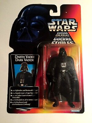 Star Wars Figur Darth Vader Power Of The Force POTF2 MOC neu OVP