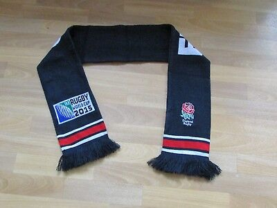 IRB ENGLAND Rugby World Cup Collection 2015 RUGBY Union Scarf