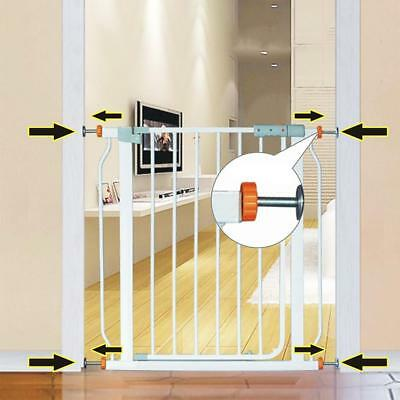 XS/S/L Adjustable Baby Safety Gate Child Dog Security Door Pet  CatStair  Dlyy