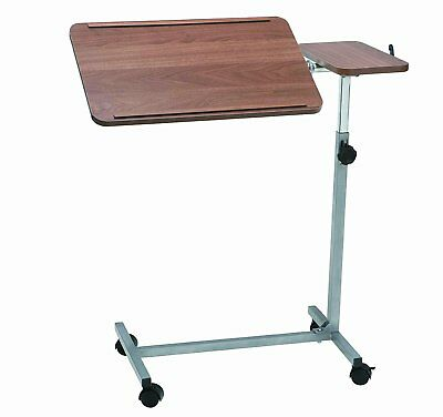 Drive DeVilbiss Heavy duty Deluxe Over Bed Table with Twin Top