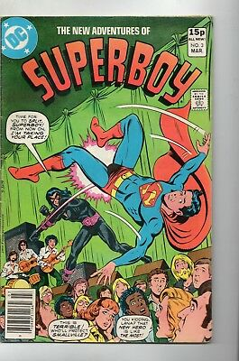 The New Adventures Of Superboy # 3 / Dc 1980 / Fine+ / Astralad.