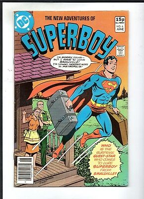 The New Adventures Of Superboy # 6 / Dc 1980 / Fine+..