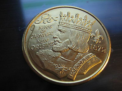 2018 endymion jazz horn Mardi Gras Doubloon Coin new orleans
