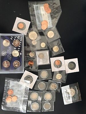 uncirculated and Circulated coin lot