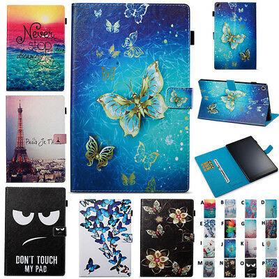 Smart Tablet Magnetic Case Leather Cover For Amazon Kindle Fire 7 HD 8 / 10 2017