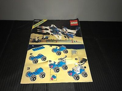 Legoland 6980 Instruction Booklet / Manual Classic Space Commander Free Uk Post