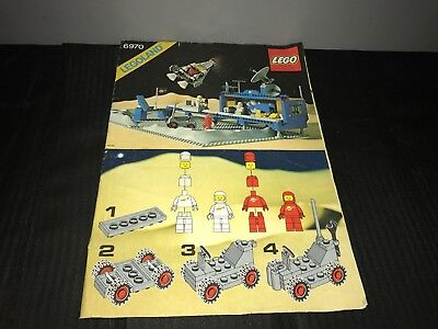 Legoland 6970 Instruction Booklet / Manual Space Commander (Fast Free Uk Post)