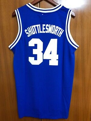 0ef2910b4 Jesus Shuttlesworth Lincoln Basketball Jersey Ray Allen  34 He Got Game  Stitched