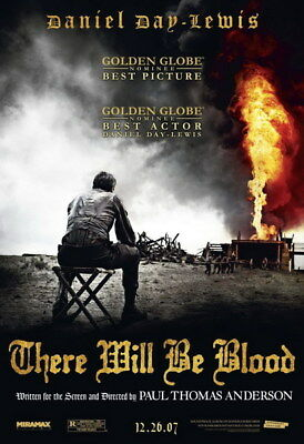 "016 There Will Be Blood - Daniel Lewis Oil USA Movie 24""x35"" Poster"