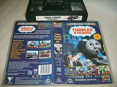 THOMAS AND FRIENDS : THE VERY BEST OF (16 Stories)* ABC RARE VHS - BUMPER ISSUE!