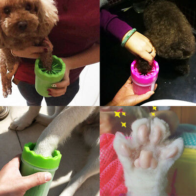 Silicone Dog Paw Cleaner Pet Cleaning Brush Cup Dog Foot Cleaner Foot Washer Cup