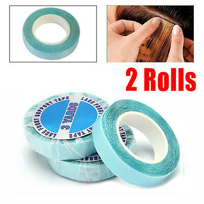 Blue Strong Double Sided Tape For Skin Weft Hair Extensions Salon Hold 3 Months